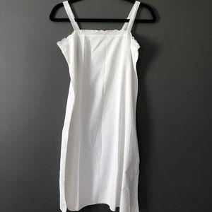 Vintage 100% Crisp Light Cotton Nightgown 60/70